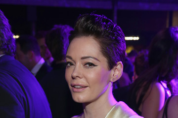 Rose McGowan Arrivals at the Elton John AIDS Foundation Oscars Viewing Party — Part 2