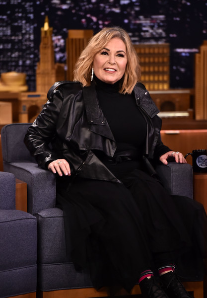 Roseanne Barr Visits 'The Tonight Show Starring Jimmy Fallon'