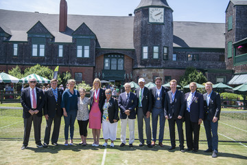 Rosie Casals Donald Dell International Tennis Hall Of Fame Class Of 2018 Induction Ceremony