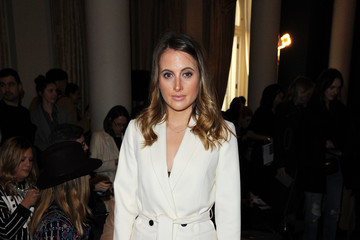 Rosie Fortescue Front Row & Arrivals: Day 1 - LFW February 2017