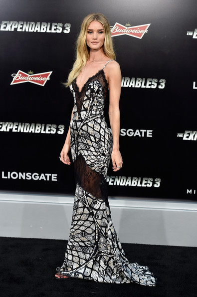 Rosie Huntington-Whiteley - 'The Expendables 3' Premieres in Hollywood