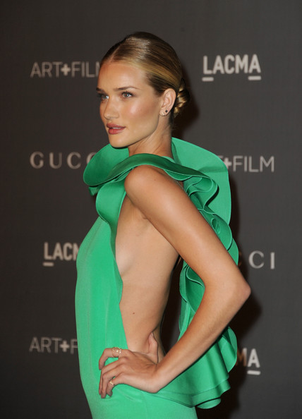 Rosie Huntington-Whiteley - LACMA 2012 Art + Film Gala - Arrivals