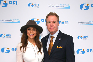 Rosie Perez Annual Charity Day Hosted By Cantor Fitzgerald, BGC and GFI - GFI Office - Arrivals