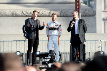Ross Brawn F1 Live In London Takes Over Trafalgar Square - Live Show