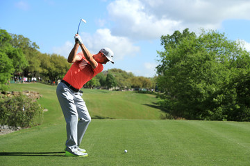 Ross Fisher World Golf Championships-Dell Match Play - Round Two