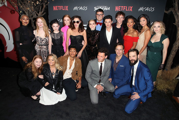Premiere Of Netflix's 'Chilling Adventures Of Sabrina' - Arrivals