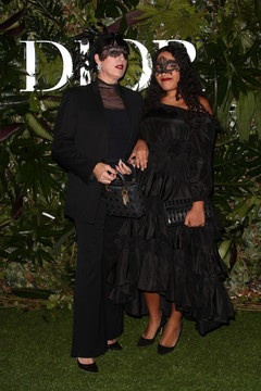 Rossy De Palma Dior Ball: Photocall In Madrid
