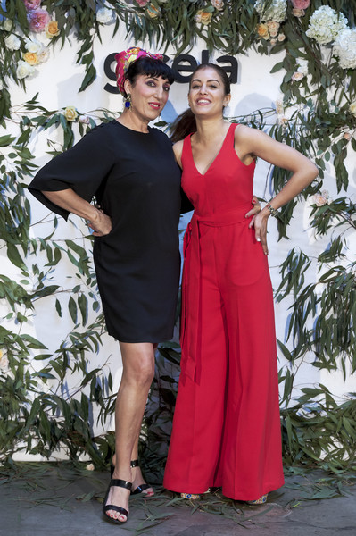 Rossy de Palma And Hiba Habouk Present 'Comment tu t'appelles' [comment,cinema,clothing,dress,red,fashion,pink,formal wear,event,fashion design,gown,haute couture,rossy de palma,hiba habouk present,actresses,hiba abouk,r,spanish,sala equis,l]