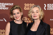 Hannah Shepard and Jessica Lange attend the Roundabout Theater's 2020 Gala at The Ziegfeld Ballroom on March 02, 2020 in New York City.