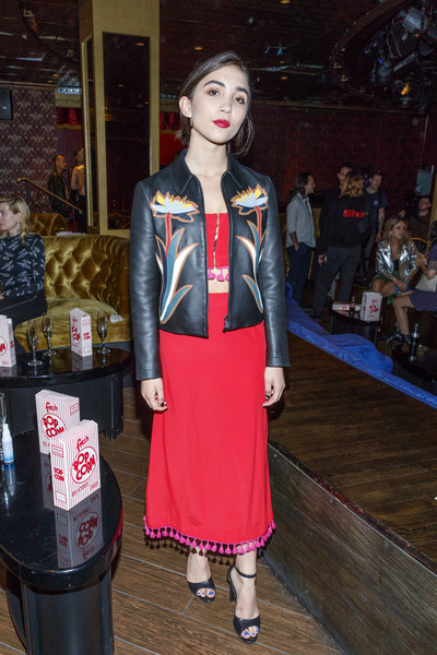 Flaunt Presents A Private Screening Of Eva Dolezalova's 'Carte Blanche' [carte blanche,fashion,costume,girl,product,cosplay,flaunt presents a private screening of eva dolezalova,rowan blanchard,flaunt presents,hollywood roosevelt hotel,california,event,screening]