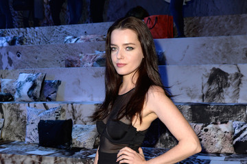 Roxane Mesquida Front Row at H&M