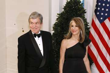 Roy Blunt Guests Arrive For State Dinner At The White House Honoring Australian PM Morrison