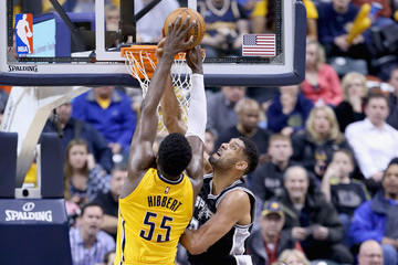 Roy Hibbert San Antonio Spurs v Indiana Pacers