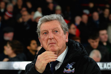 Roy Hodgson Crystal Palace Vs. Manchester United - Premier League
