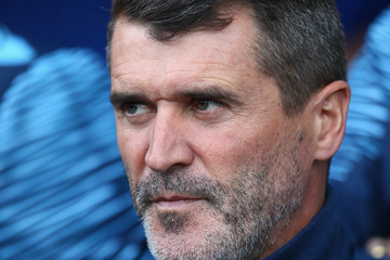 Roy Keane Everton v Aston Villa - Premier League