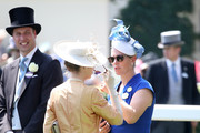 Princess Anne, Princess Royal and Zara Phillips attend Royal Ascot 2017 at Ascot Racecourse on June 20, 2017 in Ascot, England.