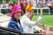 Princess Anne, The Princess Royal and Princess Beatrice attend Day 3 of Royal Ascot at Ascot Racecourse on June 19, 2014 in Ascot, England.
