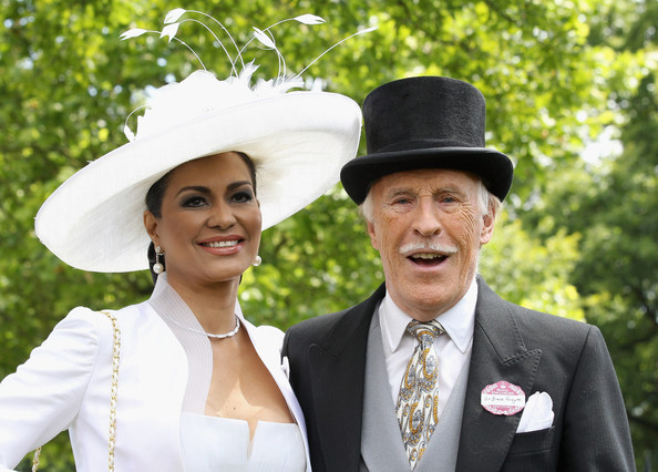 Bruce forsyth wedding
