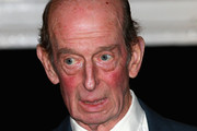 Edward, Duke of Kent arrives at the Royal Albert Hall during the Annual Festival of Remembrance on November 7, 2015 in London, England.