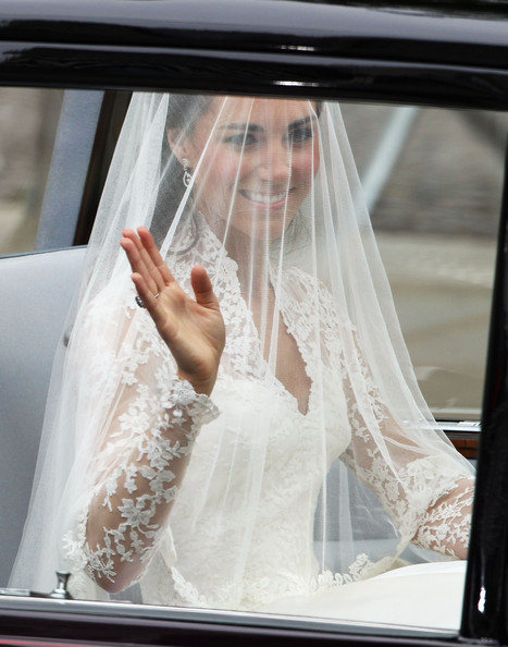 Kate+Middleton in Royal Wedding - Wedding Guests And Party Make Their Way To Westminster Abbey