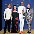 RuPaul Andre Charles 70th Emmy Awards - Press Room