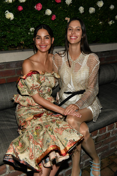 Lily Aldridge Parfums Launch Event