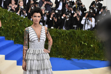 "Ruby Rose ""Rei Kawakubo/Comme des Garcons: Art of the In-Between"" Costume Institute Gala - Arrivals"