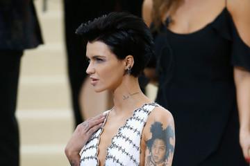 Ruby Rose 'Rei Kawakubo/Comme des Garcons: Art of the In-Between' Costume Institute Gala - Outside Arrivals