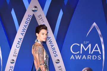 Ruby Rose The 51st Annual CMA Awards - Arrivals