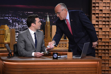 "Rudolph Giuliani ""The Tonight Show Starring Jimmy Fallon"" Debut Episode"