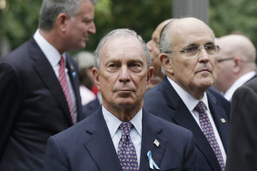 Rudolph Giuliani New York Commemorates 13th Anniversary Of September 11th Attacks