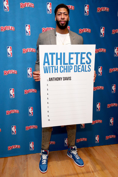 Ruffles, The Official Chip Of The NBA Partners With Anthony Davis In The First-Ever 'Chip Dip'