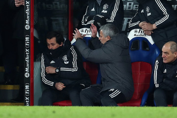 Rui Faria Crystal Palace Vs. Manchester United - Premier League