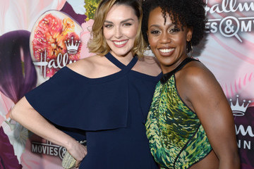Rukiya Bernard Hallmark Channel and Hallmark Movies and Mysteries Winter 2018 TCA Press Tour - Red Carpet