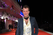 """Thomas Jane walks the red carpet ahead of the movie """"Run Hide Fight"""" at the 77th Venice Film Festival on September 10, 2020 in Venice, Italy."""