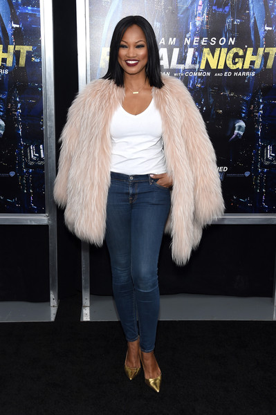 "Actress Garcelle Beauvais attends the ""Run All Night"" New York Premiere at AMC Lincoln Square Theater on March 9, 2015 in New York City."