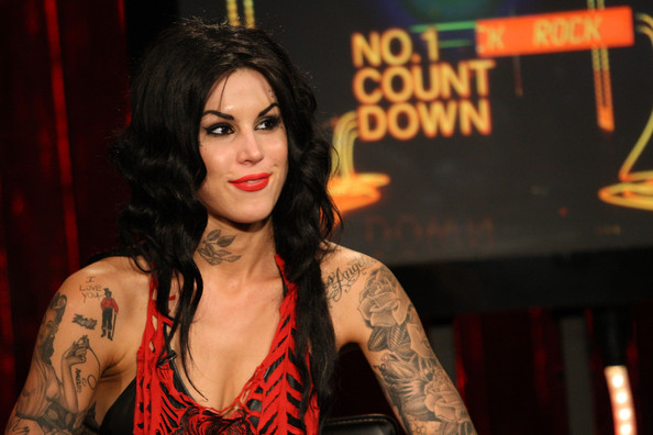"Tattoo artist and TV personality Kat Von D visits fuse's ""No. 1 Countdown"""