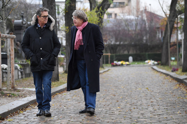'The Happy Prince' Photo Session At Pere Lachaise Cemetery In Paris