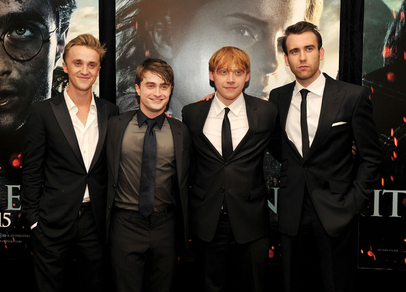 Daniel Radcliffe And Rupert Grint   Harry Potter And The Deathly