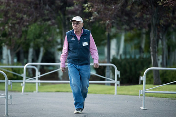 Rupert Murdoch Annual Allan And Co. Investors Meeting Draws CEO's And Business Leaders To Sun Valley, Idaho