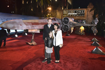 Russ Lamoureux The World Premiere of 'Rogue One: A Star Wars Story'