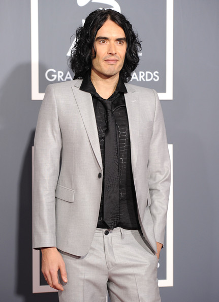 Russell Brand Actor Russell Brand arrives at The 53rd Annual GRAMMY Awards held at Staples Center on February 13, 2011 in Los Angeles, California.