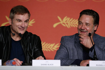 Russell Crowe 'The Nice Guys' Press Conference - The 69th Annual Cannes Film Festival