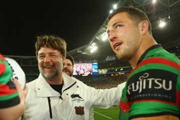 Russell Crowe 2014 NRL Grand Final - South Sydney v Canterbury