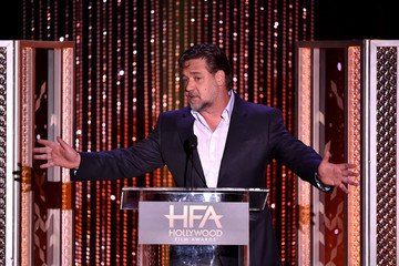 Russell Crowe 19th Annual Hollywood Film Awards - Show