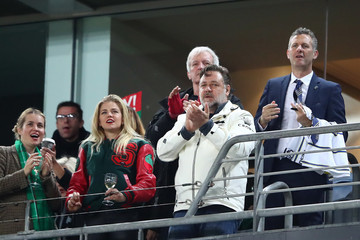 Russell Crowe NRL Rd 25 - Rabbitohs vs. Tigers