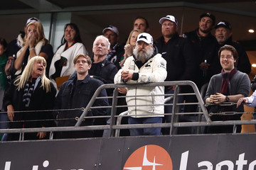 Russell Crowe NRL Rd 20 - Rabbitohs vs. Eels