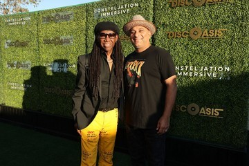 Russell Peters The DiscOasis at the South Coast Botanic Garden with Groovemaster Nile Rodgers