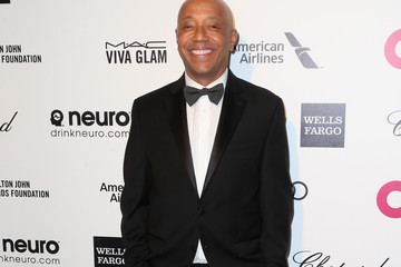 Russell Simmons Arrivals at the Elton John AIDS Foundation Oscars Viewing Party — Part 4