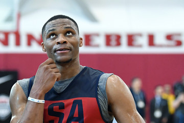 Russell Westbrook 2018 USA Basketball Men's National Team Minicamp